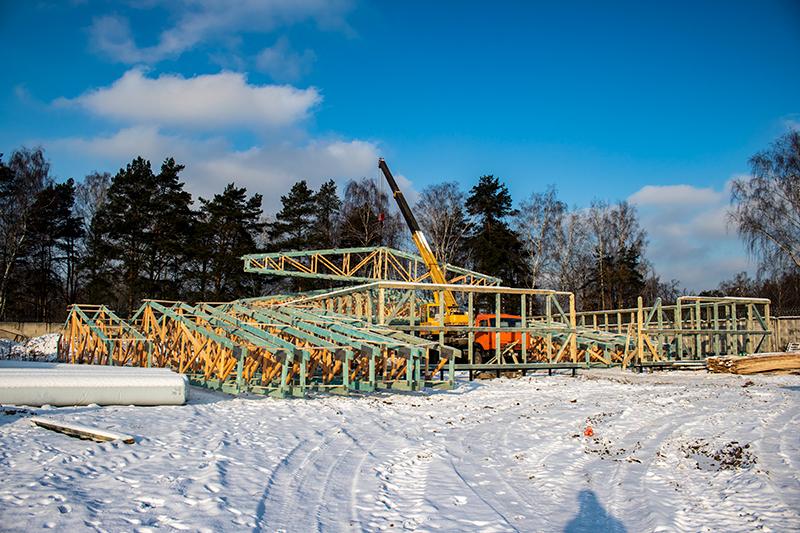 Проектирование и строительство кинологического центра в Москве